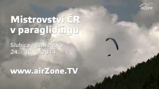 airZone.TV – 15. 9. 2014 – Mistrovství ČR v paraglidingu 2014