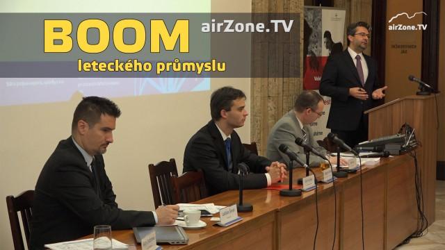 airZone.TV – 18. 12. 2014 – Boom leteckého průmyslu