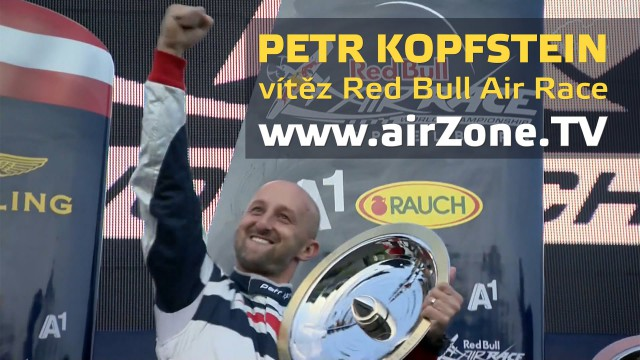 airZone.TV – 2. 11. 2014 – Petr Kopfstein, vítěz Red Bull Air Race