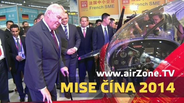 airZone.TV – 24. 11. 2014 – Mise Čína 2014