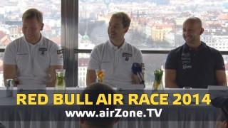 airZone.TV – 26. 11. 2014 – Red Bull Air Race 2014 – tiskovka Praha