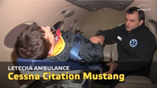 Cessna Citation Mustang – letecká ambulance