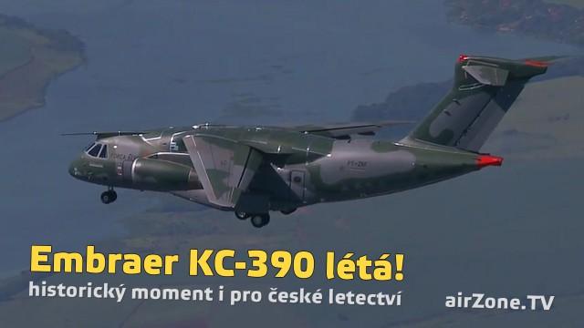 Embraer KC-390 létá!
