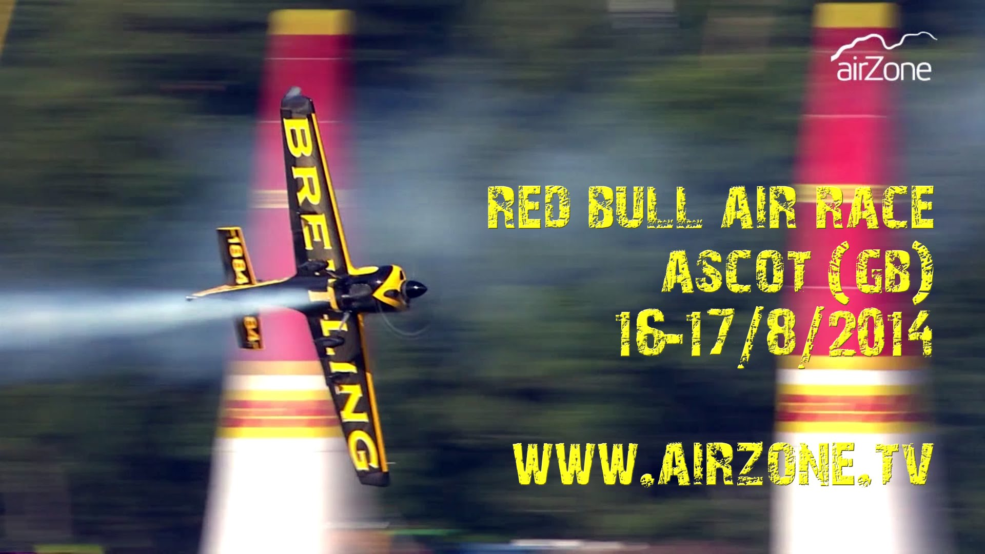 Magazín AIRZONE 08/2014 – 19. 8. 2014 – RED BULL AIR RACE ASCOT!