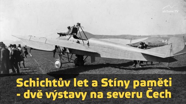 Schichtův let a Stíny paměti – dvě výstavy na severu Čech
