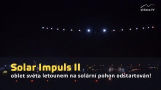 Solar Impulse II, mise odstartována