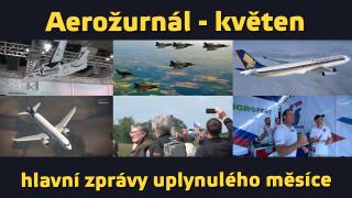 Aerožurnál – souhrn zpráv za květen 2015
