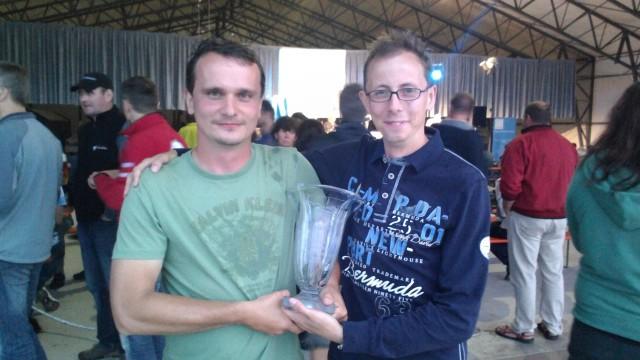 Prvními mistry ČR ve vrtulníkovém létání jsou Eduard Malina a Martin Vencl (aktualizováno)