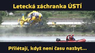 Letecká záchranka (4/4) – Ústí nad Labem