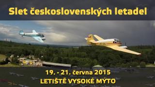Slet československých letadel 2015