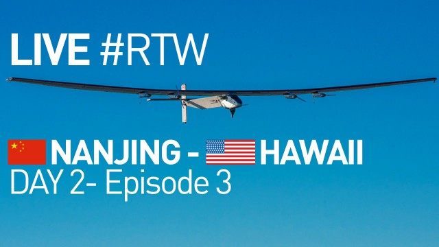 SI-II letí z Číny na Havaj, akt. 16:52 – Bezpečnostní přistání v Japonsku