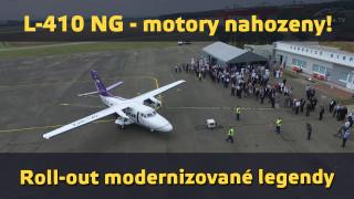 L-410 NG – motory nahozeny! Roll-out modernizované legendy