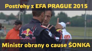 Postřehy z EFA Prague 2015 – O cause Šonka s ministrem obrany Martinem Stropnickým