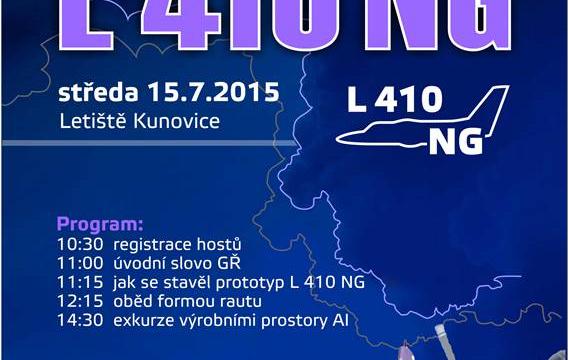 Roll-out nové generace kunovické L-410 už příští středu