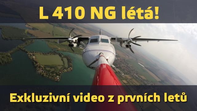 Modernizovaná legenda L 410 NG létá!