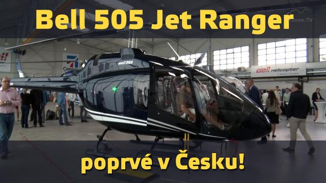 Bell 505 Jet Ranger poprvé v Česku!