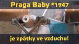 Rekordní Praga Baby z roku 1947 je opět na obloze!