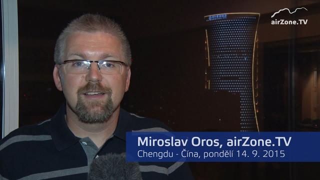 Mianyang 2015 – Miroslav Oros se hlásí z Číny!