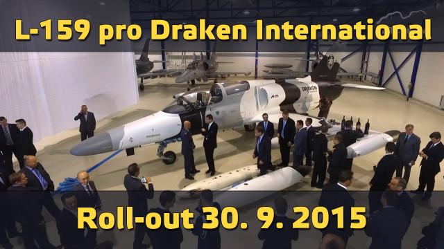L-159 ALCA pro Draken International – roll-out, bez komentáře