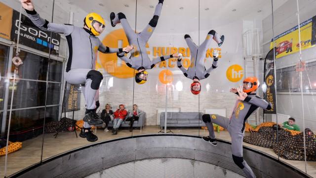 Praha hostí o víkendu mistrovství světa v indoor skydivingu