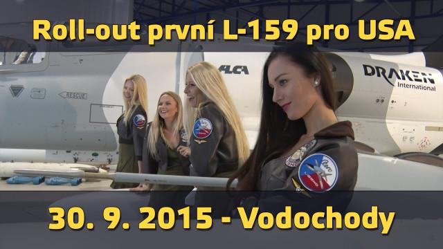 L-159 Alca bude létat v USA! Reportáž z roll-outu!