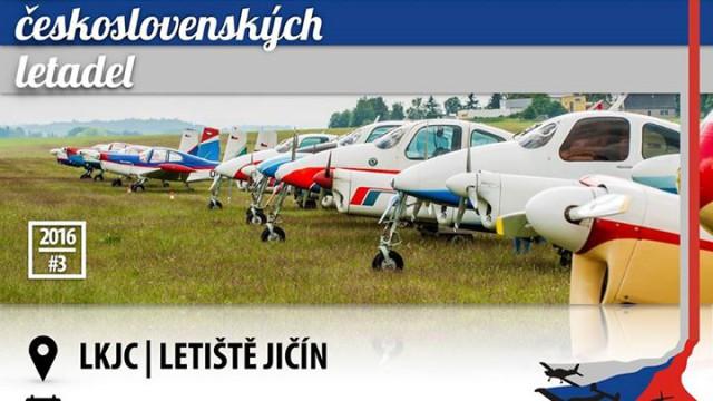 Slet československých letadel 2016 bude v Jičíně!