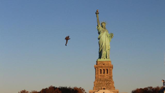 VIDEO: JetPack létal v New Yorku