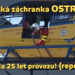 Letecká záchranka OSTRAVA oslavila 25 let! (reportáž)
