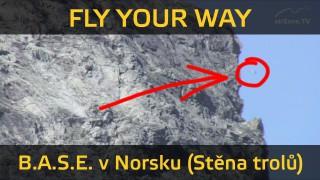 31.1.2016 – Fly Your Way – Stěna trolů (B.A.S.E. v Norsku)