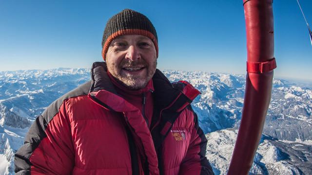 V balónu nad mrazivými Alpami – s režisérem Petrem Horkým (foto + telefonát)