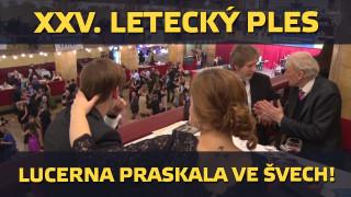 XXV. Reprezentační letecký ples – Praha, Lucerna, 13. 2. 2016