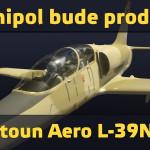 Omnipol bude prodávat letoun Aero L-39NG!