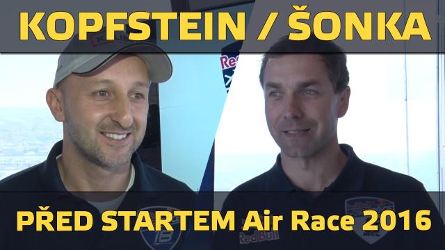 KOPFSTEIN / ŠONKA – před startem RB Air Race 2016
