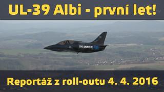 UL-39 Albi – první let! (reportáž)