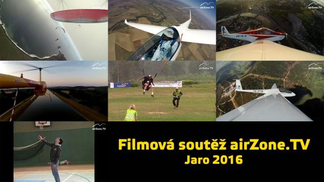 Filmová soutěž airZone.TV – jaro 2016 začíná! Dívejte se každý den po 20. hodině