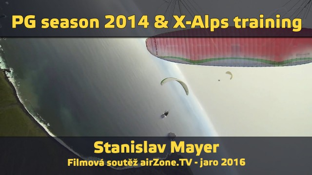 Filmová soutěž – Paragliding season 2014 & Red Bull X-Alps training