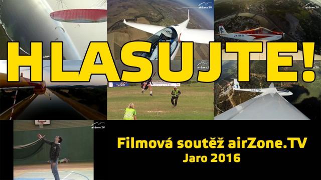 Filmová soutěž airZone.TV – jaro 2016 – HLASOVÁNÍ