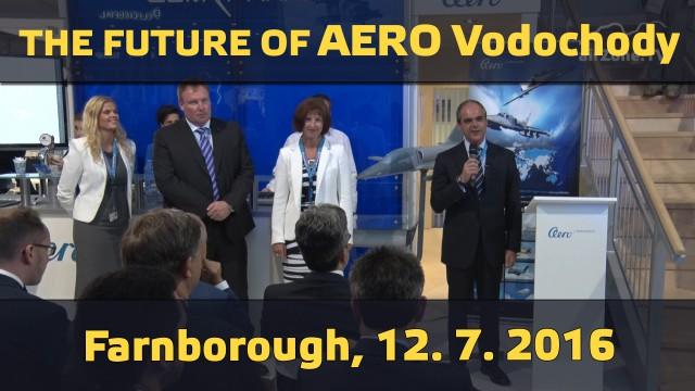 Farnborough 2016 – The future of Aero Vodochody