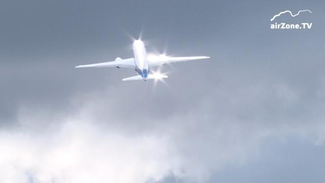 Farnborough 2016 – Boeing flying display