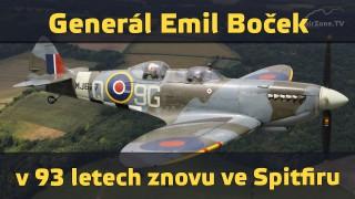 Splněný sen veterána RAF – v 93 letech letěl ve Spitfiru