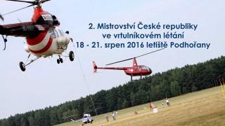 V Podhořanech začíná 2. mistrovství České republiky ve vrtulníkovém létání