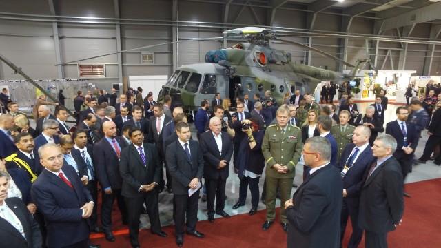 Future Forces Forum probíhá do pátku 21. října v Praze
