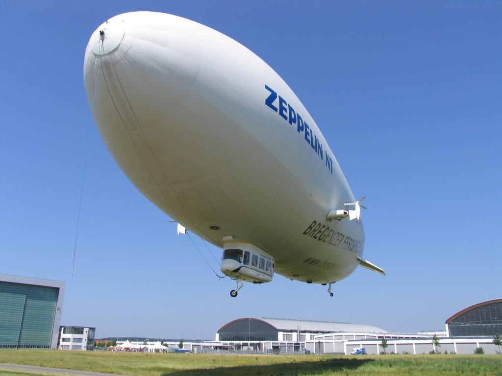 Současný typ vzducholodi Zeppelin