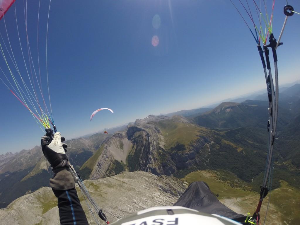 Let v Pyrenejích