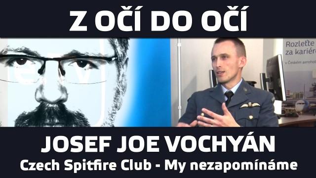 VIDEO: Z očí do očí – Josef Joe Vochyán – Czech Spitfire Club