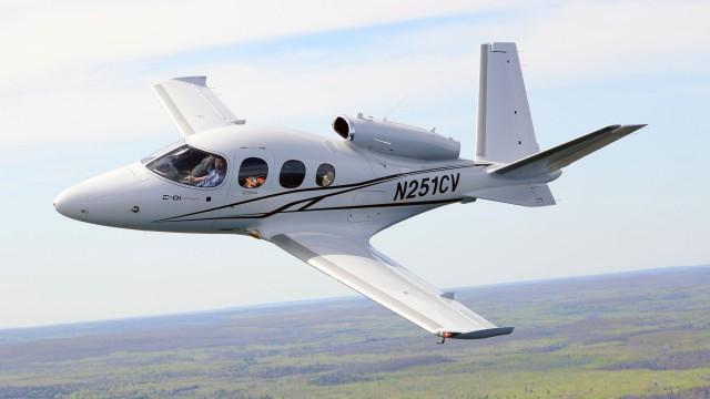 Cirrus Vision Jet SF-50 úspěšně certifikován