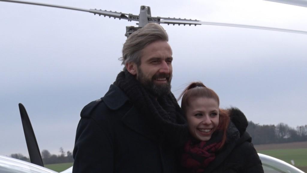 Roman Zach a Andrea Třeštíková vstoupí do historie StarDance malou leteckou show