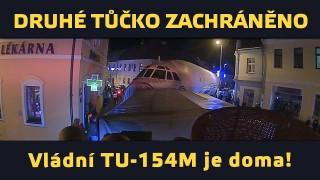 """VIDEO: Druhé """"Tůčko"""" TU-154M zachráněno!"""