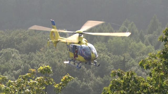 Žluté vrtulníky budou létat z Ústí nad Labem do konce února 2017