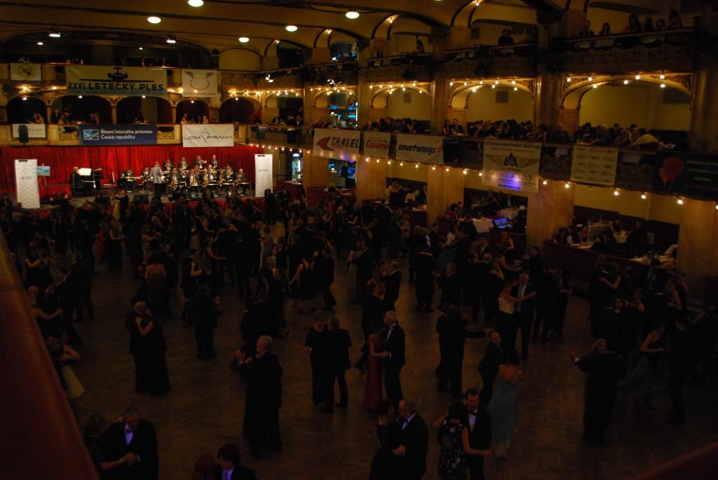 Letecký ples 2017 Lucerna